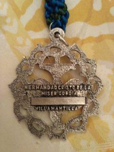 Medalla Hermandad Del Santo Cristo de la Misericordia - Villamantilla